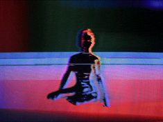 "cathoderetina:  "" [ABSTRACT FORM 00043]  Model: @alisonblack  Body Paint by @ssorrayaa  """