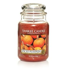 Spiced Pumpkin: Yankee Candle:  Pumpkins baked in simmering spices of clove, nutmeg, and cinnamon, and sweetened with brown sugar.