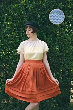 Ginger Skirt  New Winter Collection by alicenightingale on Etsy, $90.00