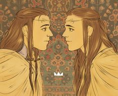 tolkien Elrond and Elros by ~jubah on deviantART