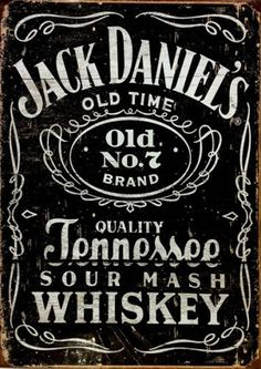 JACK-DANIELS-CLASSIC-LOGO-Vintage-Sign-A4-Poster-Bar-Pub-Retro-Wall-Art-Decor