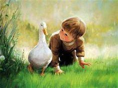 Donald Zolan oil painting of children