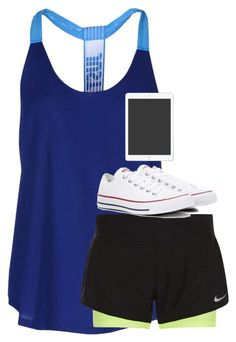 """""""Untitled #3312"""" by laurenatria11 ❤ liked on Polyvore featuring NIKE and Converse"""