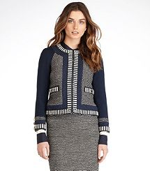 LEANDRA DASH TWEED JACKET 60% off at Tory Burch! Lovely.