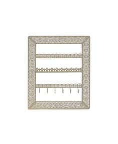 Flora Wall Jewellery Holder with hooks (Gold) Perth, Brisbane, Melbourne, Sydney, Jewelry Holder Wall, Flora, Finding Yourself, Australia, Organization