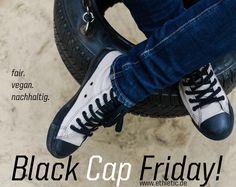 #Ethletic #BlackCap #FairTrainer #ethical #fairtrade #vegan #sustainable #sneaker
