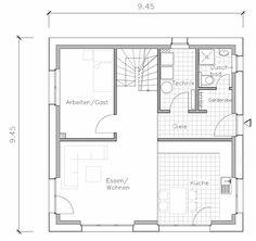 Passivhaus grundriss  Kamin 2.Etage   Grundriss   Pinterest   Grundrisse