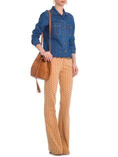 Camisa Feminina Bordado Barra - Maria Filó - Jeans - Shop2gether - http://www.shop2gether.com.br/camisa-feminina-bordado-barra-jeans.html
