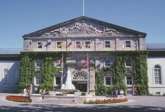 Rideau Hall in Ottawa, Canada. Home of the queen of Canada and of the governor of Canada