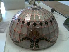WIP Tiffany -Stained- Glass Lamp (Baroque style) 4 by Scarred-Spike on DeviantArt