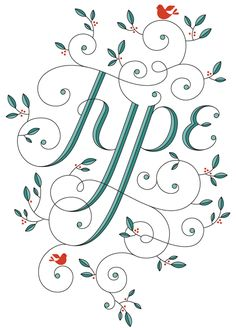 Type for Fun 1 by Jessica Hische