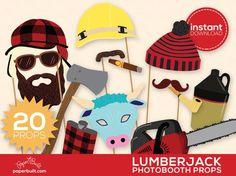 Lumberjack Photo Boo
