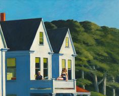 Edward Hopper (1882 1967) Second Story Sunlight 1960 Oil on canvas, 102,1x127,3 cm Whitney Museum of American Art, New York; purchase, with funds from the Friends of the Whitney Museum of American Art © Whitney Museum of American Art, N.Y.