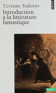 Introduction à la littérature fantastique: Amazon.fr: Todorov: Livres