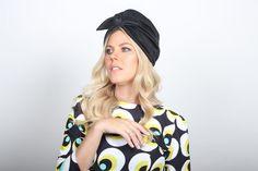 on sale knit headband black headband full by RonaHandmadeTurbans