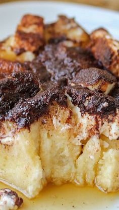 Cream Cheese French Toast Casserole with Jimmy John's Day Old Bread