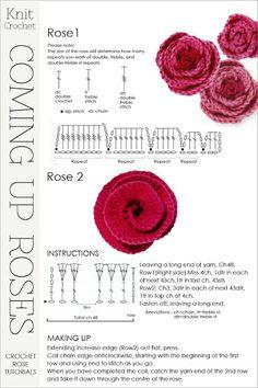 DiaryofaCreativeFanatic  Another crochet rose tutorial