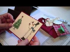 Hidden Message Accordian Fold Card