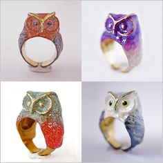 Stunning Hand Crafted Rings by Monvatoo London