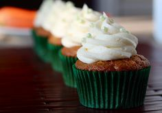 Carrot Cheesecake Cupcakes - Your Cup of Cake