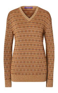 Cashmere V-neck sweater by Ralph Lauren