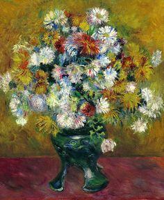 Pierre-Auguste Renoir Chrysanthèmes