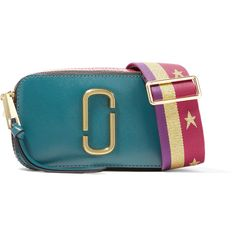 65a0b655a801e8 Marc Jacobs Snapshot color-block textured-leather shoulder bag (2.525 NOK) ❤