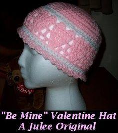 Be Mine-Valentine Hat  $3.75