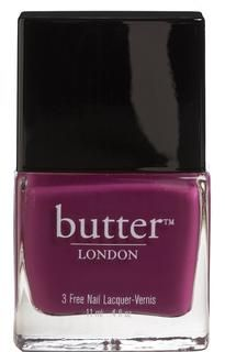 butter LONDON -Love these nail polishes, the colors are great and they are all non toxic- no Formaldehyde, Toluene, DBP or Parabens.