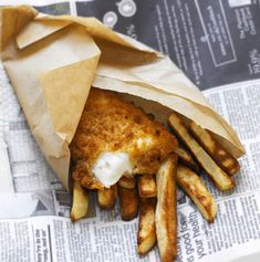 Fish and Chips - a British culinary culture. #World #Culture
