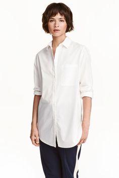 Koszula z bawełny premium | H&M