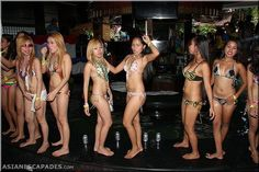 Hot Filipina bargirls at the ABC Hotel pool party May 2014 Balibago Angeles City #philippines #angelescity #abchotel