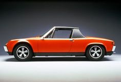 Porsche 914 - Why not? I almost don't need a car, and this is more go cart anyways :)