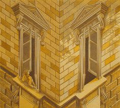 Corner House Illusion - http://www.moillusions.com/corner-house-illusion/