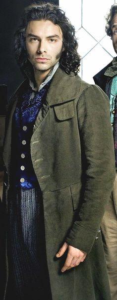 Aidan Turner (Irish Actor) as Dante Gabriel Rossetti - BBC 'Desperate Romantics' | Before...Poldark