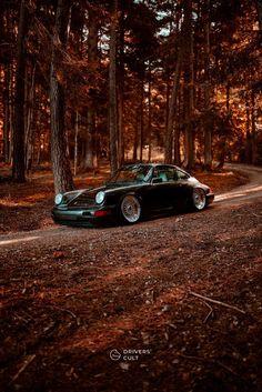 Black Car Wallpaper, Scenery Wallpaper, Porsche 911 Classic, Porsche 964, Porsche Iphone Wallpaper, Porche Car, Bmw Red, Best Friends Cartoon, Car Tuning