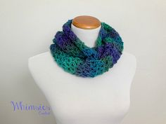 Crochet Cowl Women's Scarf Spring Scarf by WhimsiesCrochet on Etsy, $30.00