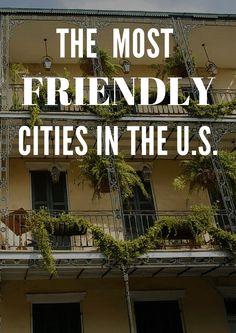 The 2015 Friendliest and Unfriendliest Cities in the U.S.