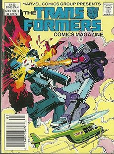 Best transformer comic covers | The Transformers Comics Magazine issue 3