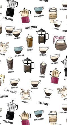 ip 5 coffee_wallpaper