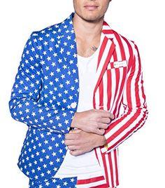 American Flag Blazer - Patriotic USA Sport Coat :http://vipgent.com/product/american-flag-blazer-patriotic-usa-sport-coat/