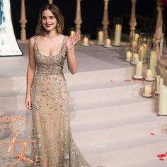 #EmmaWatson being a real life princess at @beautyandthebeast Shanghai premiere #ellevn #ellevietnam  via ELLE VIETNAM MAGAZINE OFFICIAL INSTAGRAM - Fashion Campaigns  Haute Couture  Advertising  Editorial Photography  Magazine Cover Designs  Supermodels  Runway Models