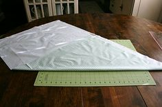 A Little Bit Biased: a {SWEET} bias binding tutorial Terrific Tutorial for folding and cutting fabric on the bias!