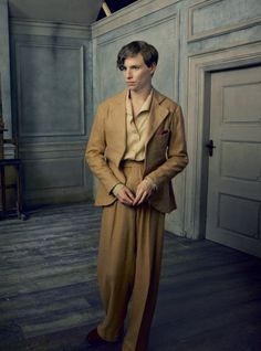 Eddie Redmayne as Lili Elbe for Vogue Magazine, October 2015 ~ Photo by Annie Leibovitz