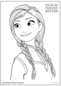 Anna Coloring Pages Free Printable Coloring Pages ...