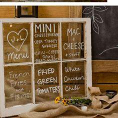 Adorable menu