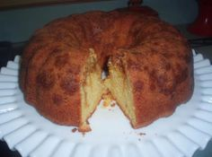 Easy Butterscotch Pound Cake Recipe | Yummly