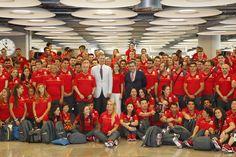 """Casa de S.M. el Rey on Twitter: """"Los Reyes desean mucho ánimo y éxitos al #TeamESP @juegosolimpicos #Rio2016"""