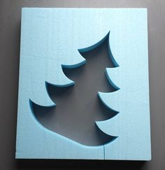 Beton Giessform WEIHNACHTSBAUM 30 cm von Beton in Form auf DaWanda.com