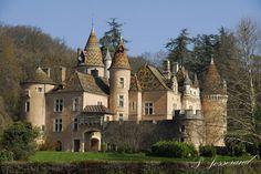 chateau de Burnand-en Saône-et-Loire